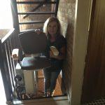 traplift doorgang
