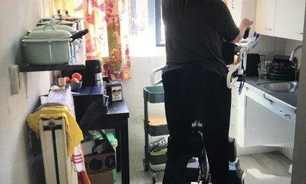 Kunnen staan en verplaatsen zonder stafunctie? Gebruikerservaring: Struzzo stalift.