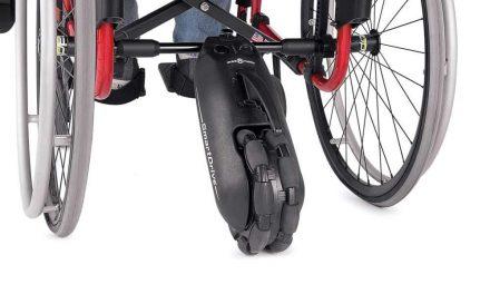 Ondersteuning bij het rolstoel rijden met een Smart Drive; Alexander deelt met ons zijn ervaringen